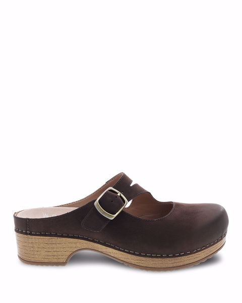 Picture of Britney Chocolate Burnished Nubuck