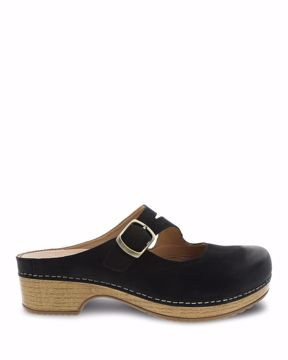 a2d764a821a0 Picture of Britney Black Burnished Nubuck. Quick View