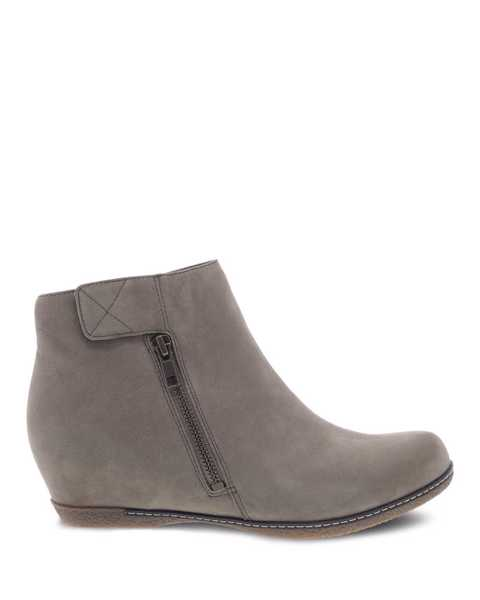 Picture of Leanna Taupe Milled Nubuck