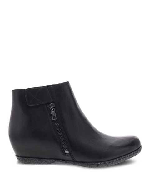 Picture of Leanna Black Burnished Nubuck