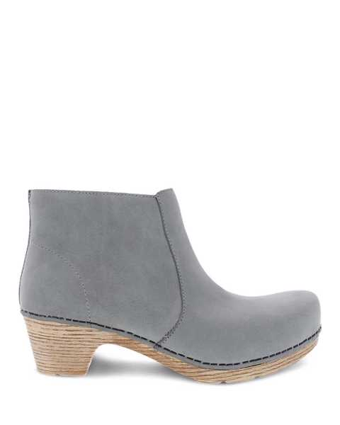 Picture of Maria Light Grey Milled Nubuck