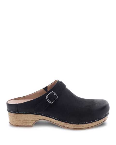 Picture of Berry Black Burnished Nubuck