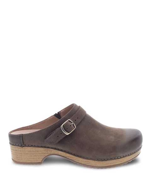 Picture of Berry Mushroom Burnished Nubuck