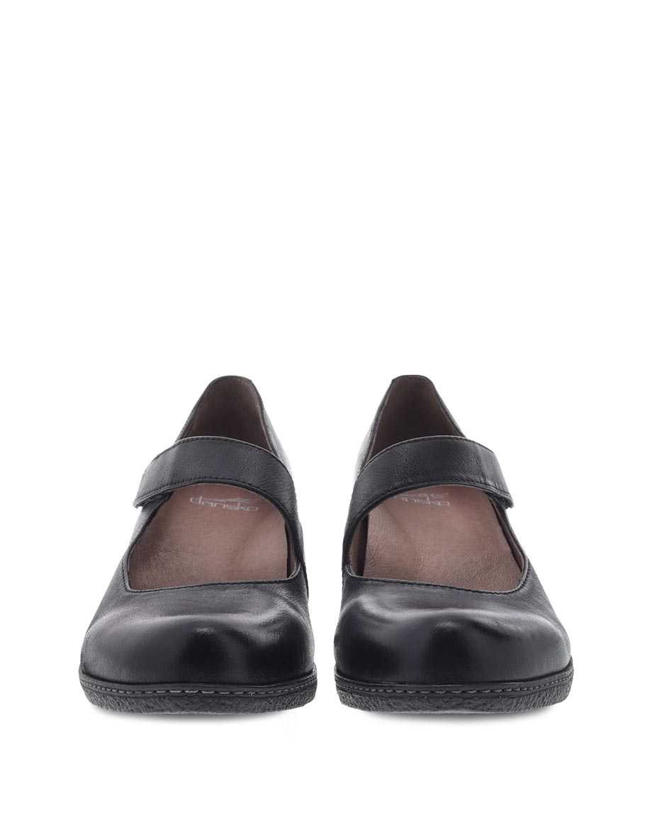 Picture of Lanie Black Burnished Nubuck