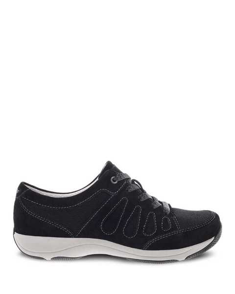 Picture of Heather Black Suede