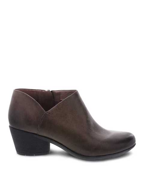 Picture of Raina Mushroom Burnished Nubuck