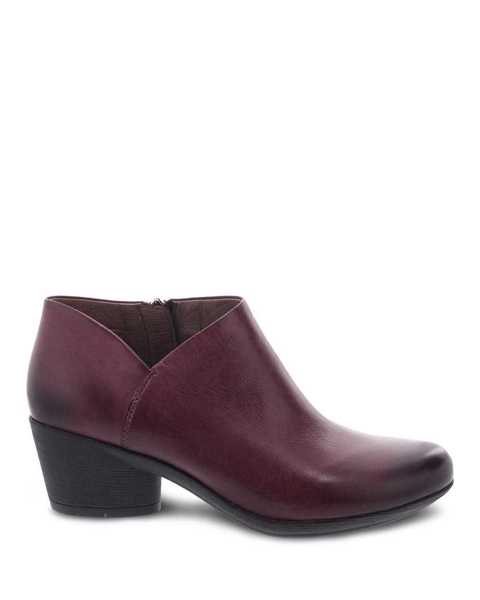 Picture of Raina Wine Burnished Nubuck