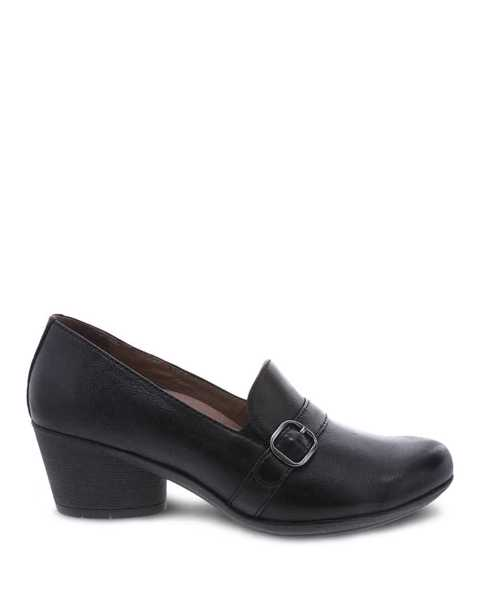 Picture of Rosalie Black Burnished Nubuck
