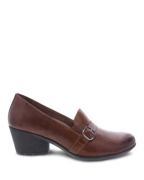 Picture of Rosalie Chestnut Burnished Calf
