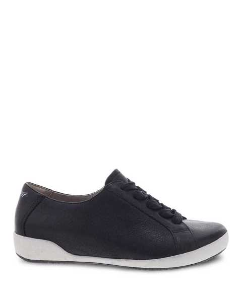 Picture of Orli Black Textured Nubuck