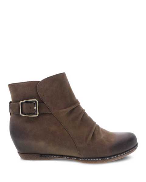 Picture of Lia Mushroom Burnished Nubuck