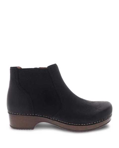 Picture of Barbara Black Burnished Nubuck