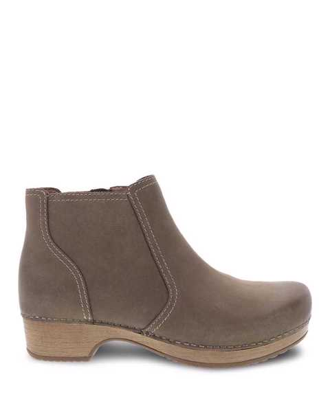 Picture of Barbara Taupe Burnished Nubuck