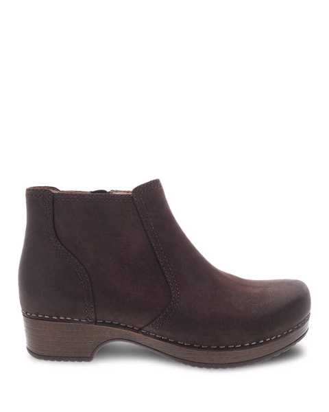 Picture of Barbara Chocolate Burnished Nubuck
