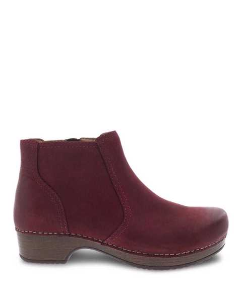 Picture of Barbara Wine Burnished Nubuck