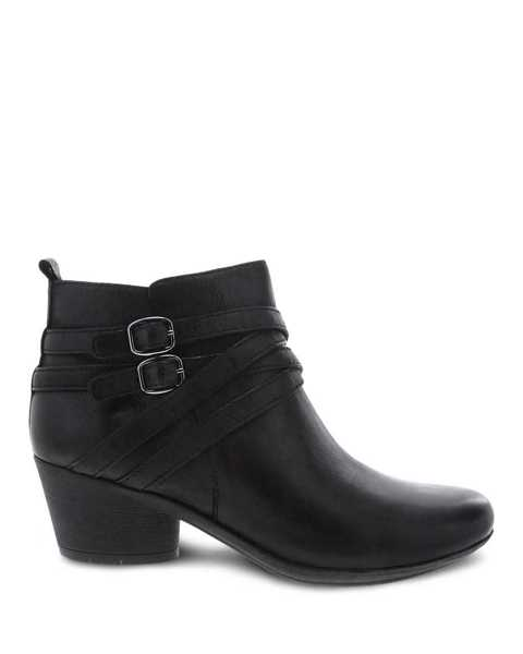 Picture of Roberta Black Burnished Nubuck