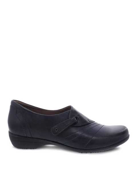 Picture of Franny Navy Burnished Calf