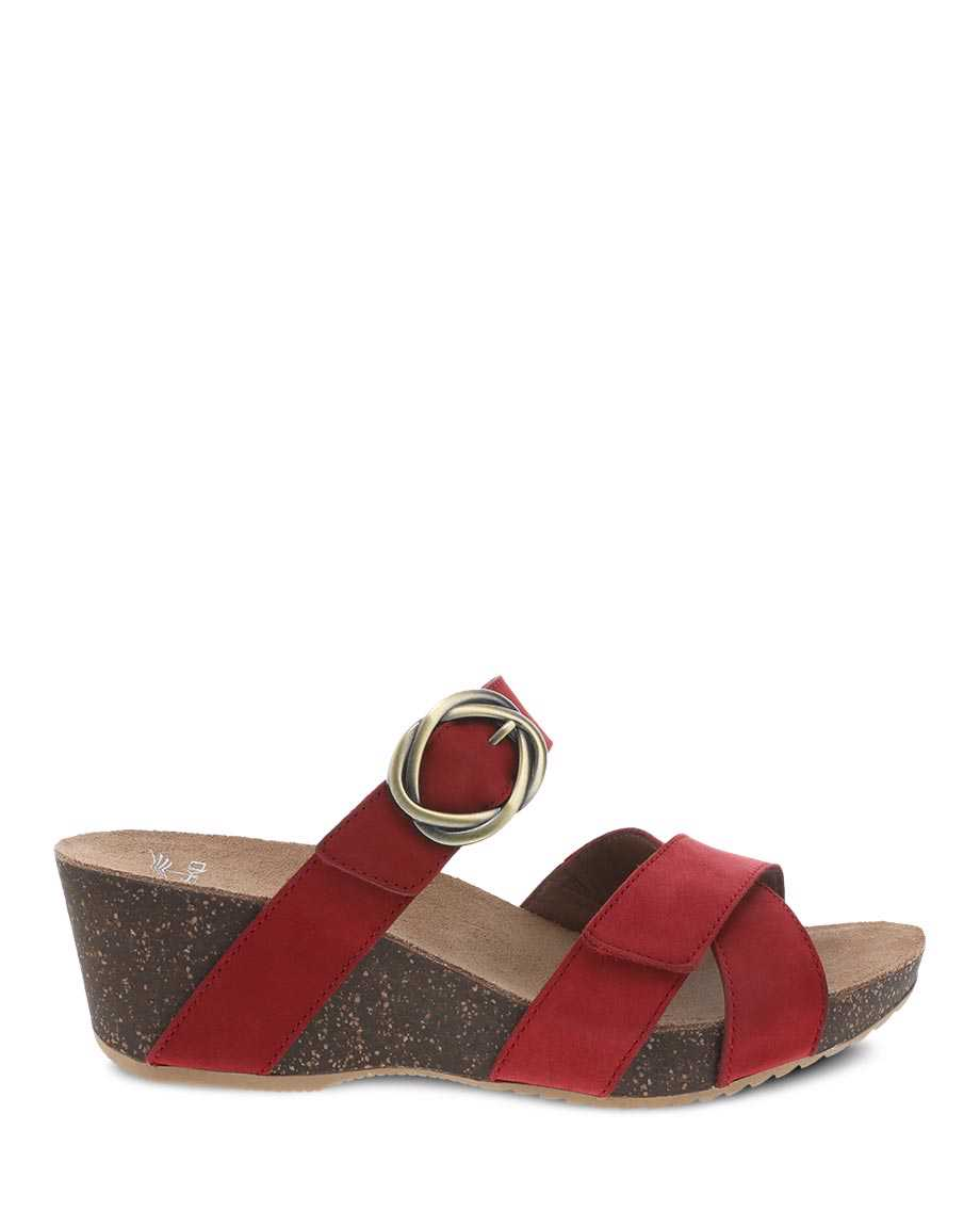 Picture of Susie Red Milled Nubuck
