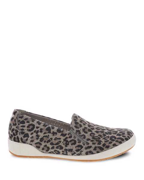 Picture of Odina Leopard Suede