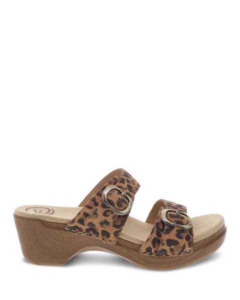Picture of Sophie Leopard Suede