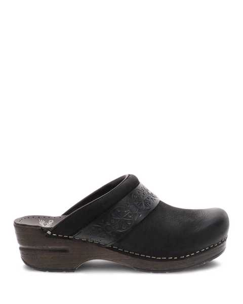 Picture of Saundra Black Burnished Nubuck