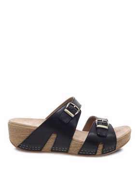 Picture of Leeann Black Burnished Calf
