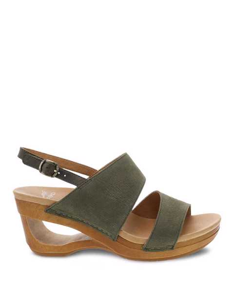 Picture of Tamia Sage Textured Nubuck