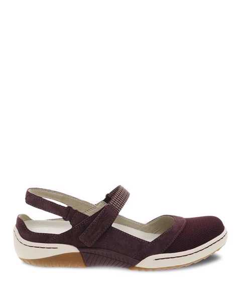 Picture of Raeann Plum Suede