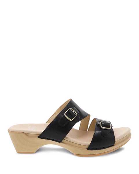 Picture of Karena Black Burnished Calf