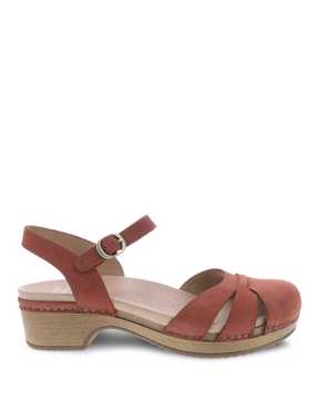 Picture of Betsey Cinnamon Milled Nubuck