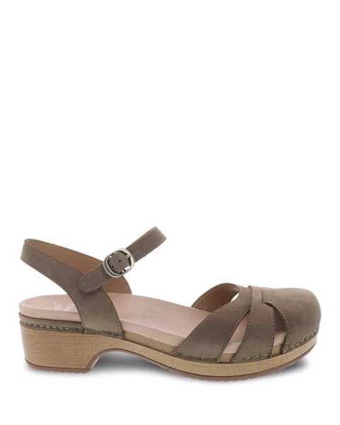Picture of Betsey Taupe Milled Nubuck