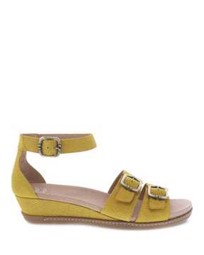 Picture of Astrid Yellow Textured Nubuck