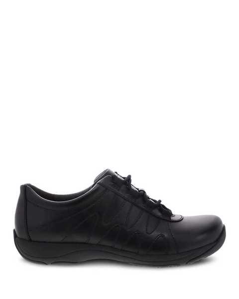 Neena Black Leather | Dansko® Official Site