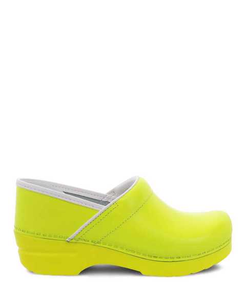 Picture of Professional Yellow Neon Leather