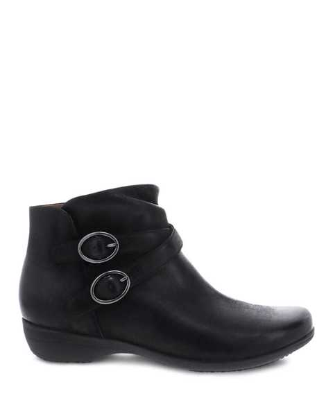 Picture of Faithe Black Burnished Nubuck