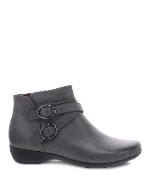 Picture of Faithe Grey Burnished Nubuck