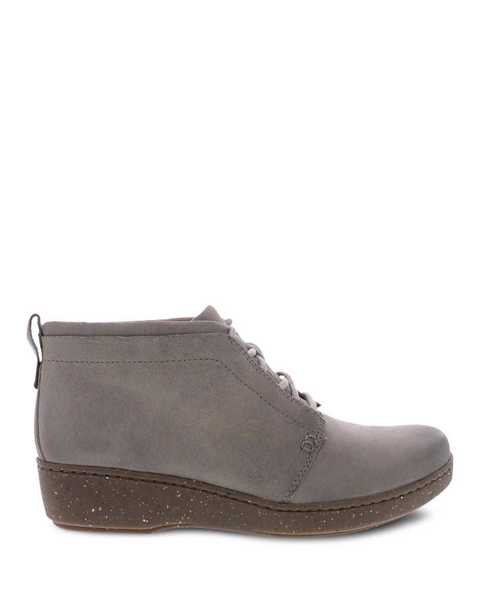 Picture of Ellen Taupe Burnished Suede