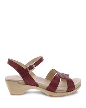 Picture of Karmen Red Burnished Calf