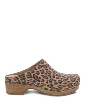 Picture of Brenda Leopard Suede