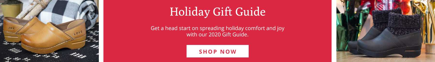 Dansko 2020 Holiday Gift Guide
