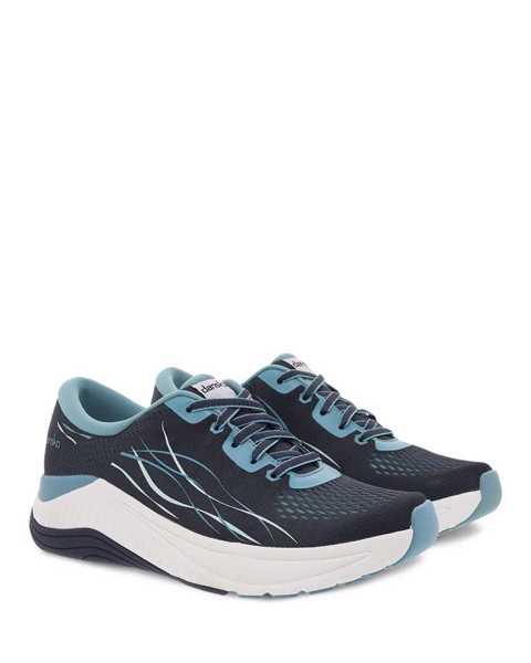Dansko Pace walking sneaker in navy blue