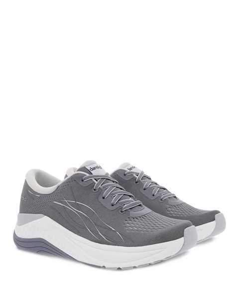 Dansko Pace walking sneaker in grey