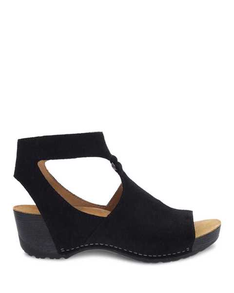 Picture of Taylin Black Burnished Suede
