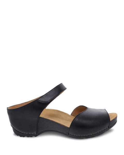 Picture of Tracy Black Burnished Calf