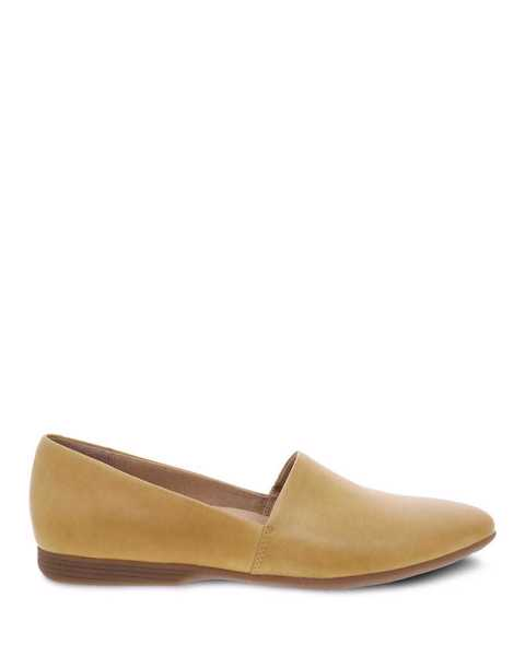 Picture of Larisa Yellow Burnished Nappa