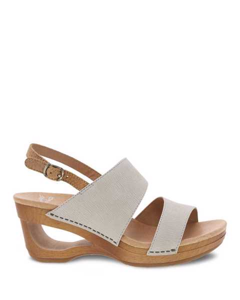 Picture of Tamia Ivory Textured Nubuck