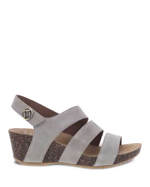 Picture of Stacey Taupe Glazed Suede