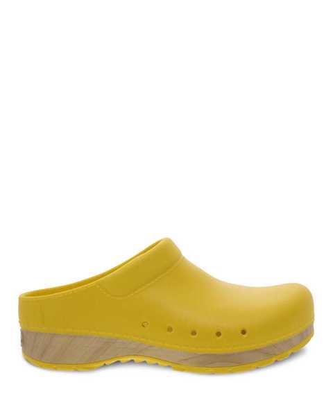 Picture of Kane Yellow EVA Clog