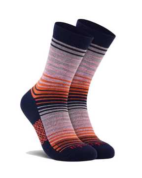 Picture of Stripe Crew Navy Sock