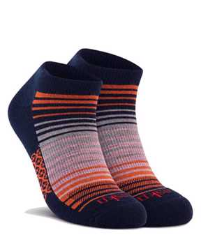 Picture of Stripe Low Cut Navy Sock